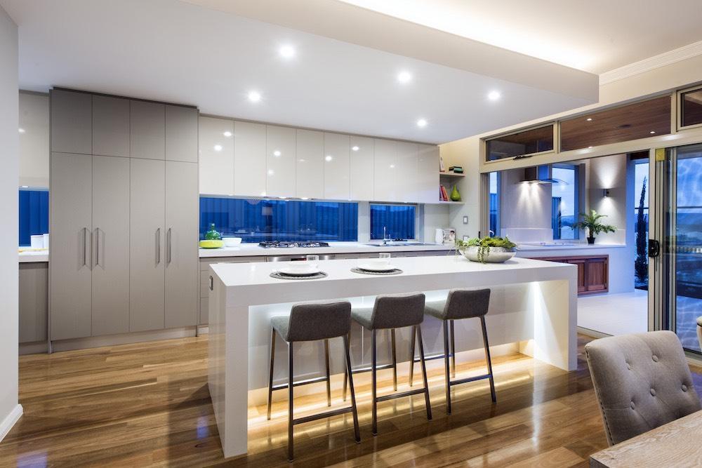 Kitchen design which benchtop is best for you wa for Laminex kitchen designs