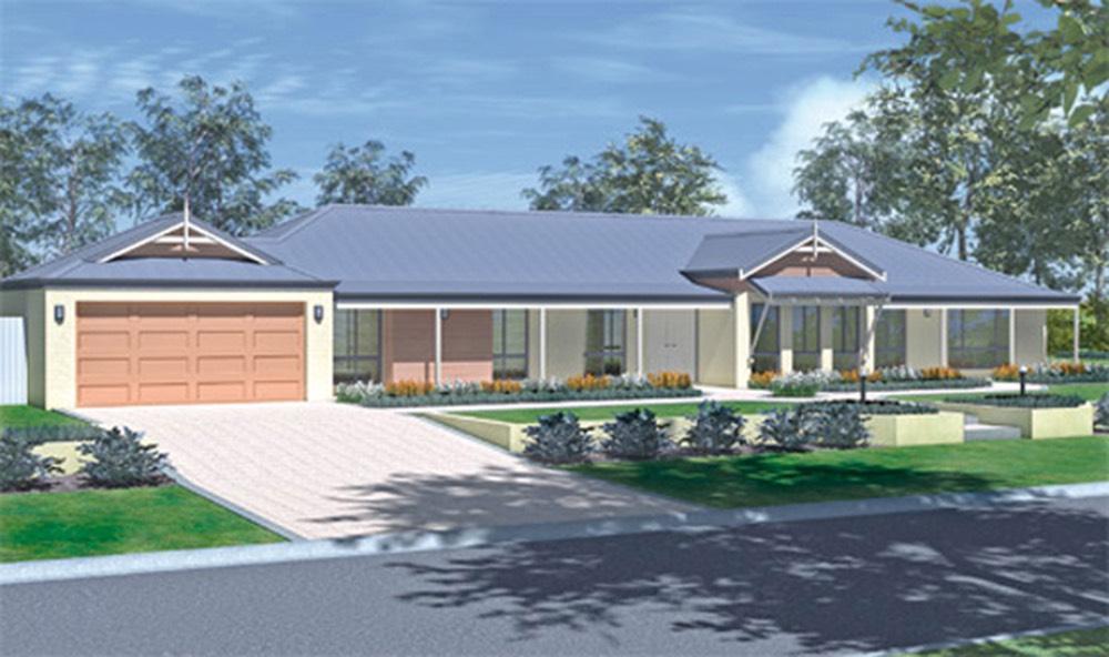 The faversham estate range home designs wa country for Country home designs wa