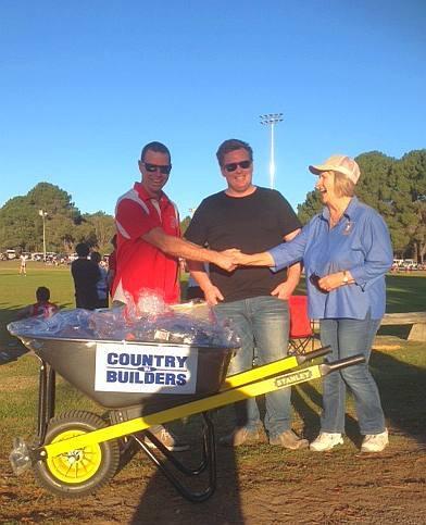 WACB Esperance - Wheelbarrow Donation