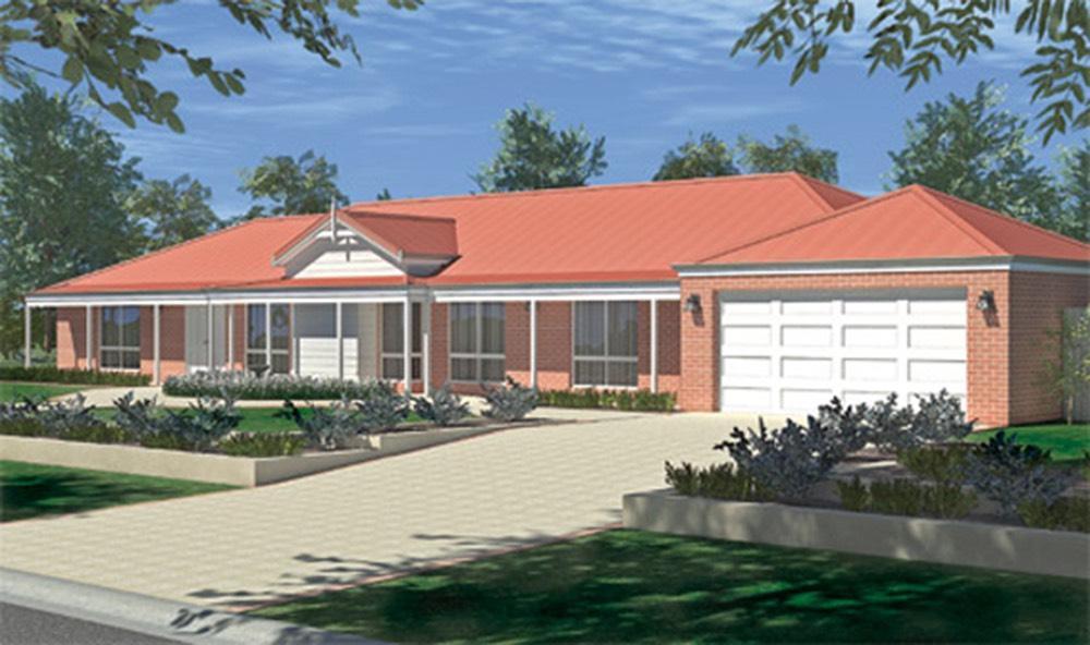 The wonnerup estate range home designs wa country for Country home designs wa
