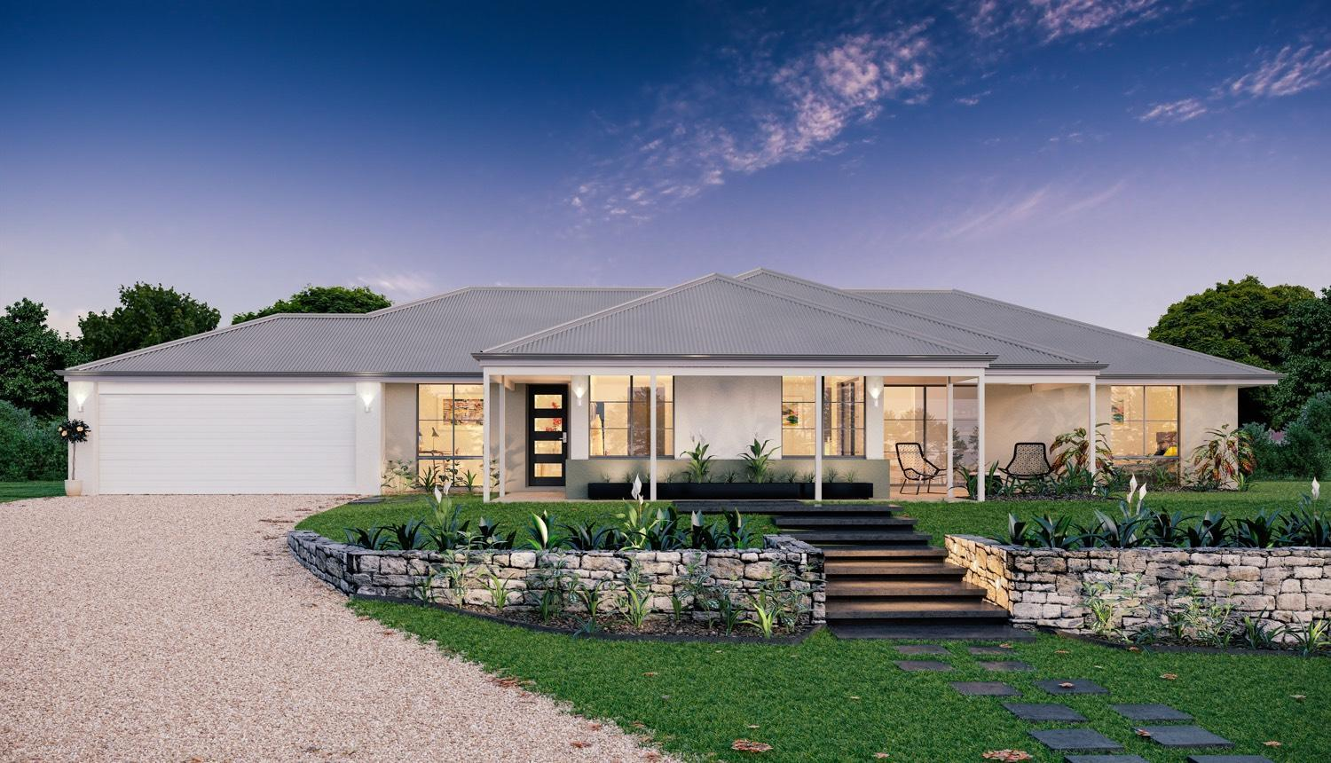 Nice country builders homes designs 7 wa country for Country builder