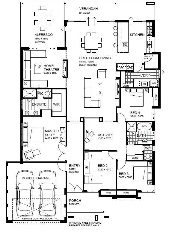 style house plans - Wa Home Designs