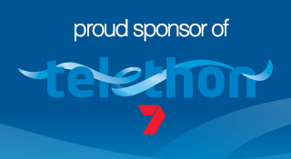Proud sponsor of Telethon