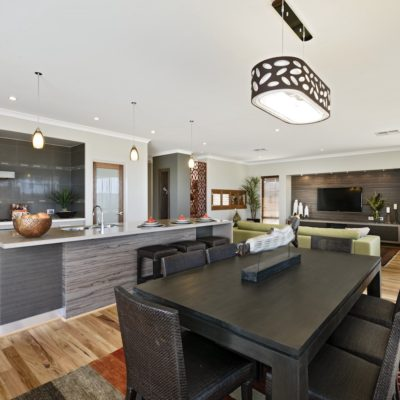 WA Country Builders - Toorak open-plan dining area
