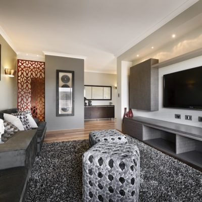 WA Country Builders - Toorak light-filled lounge