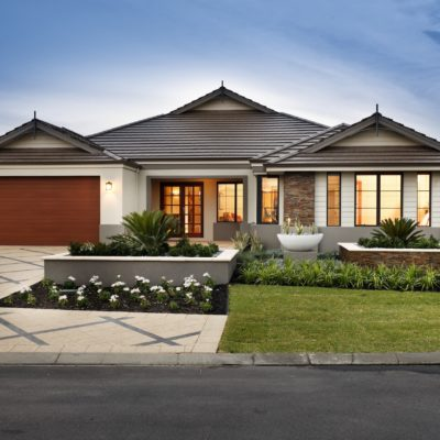 WA Country Builders - Toorak style house front view