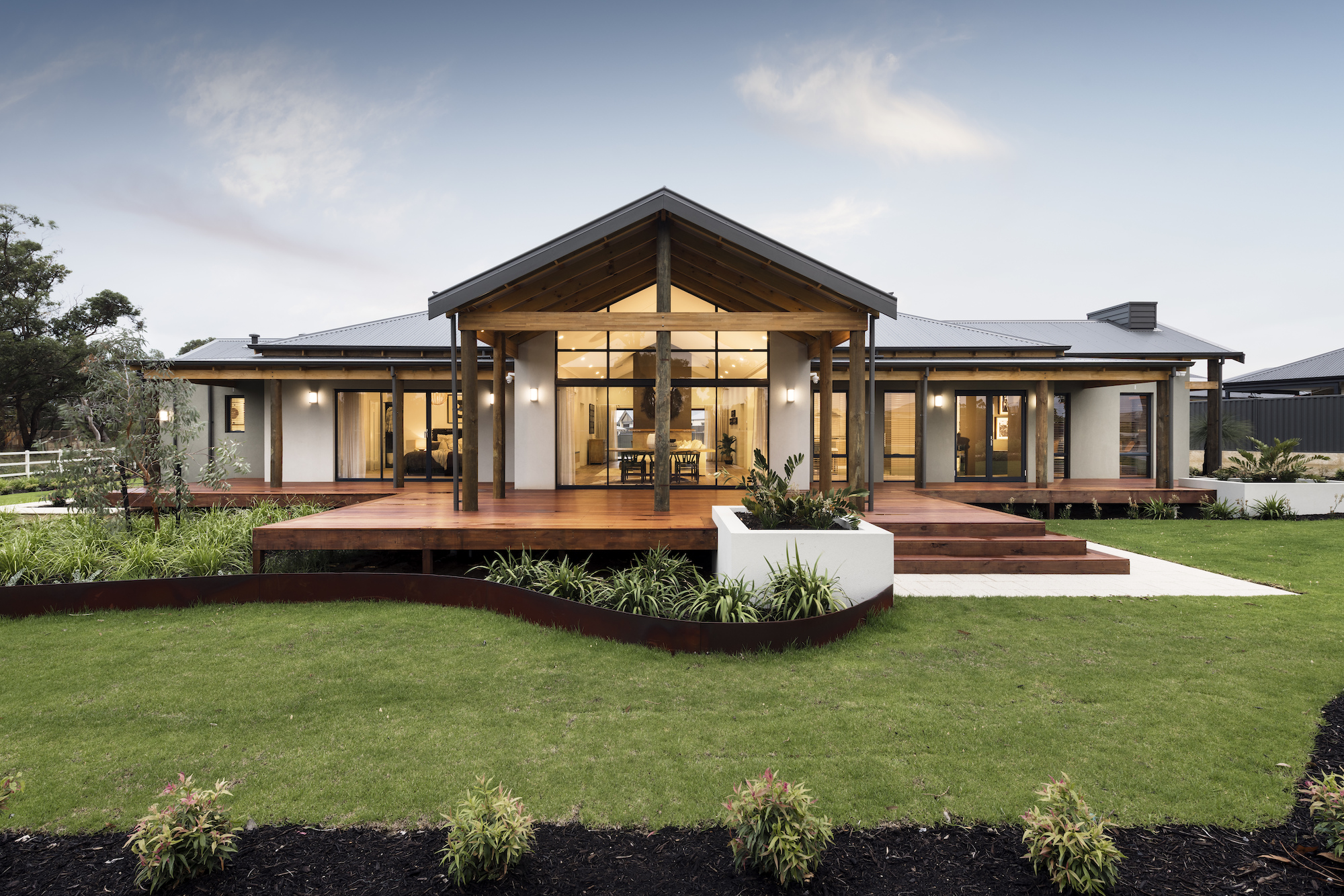 Display homes new home builders wa country builders for Nw home builders